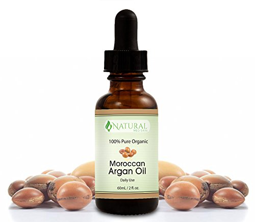 Premium Organic Morrocan Argan Oil for Face Skin Hair and Nails USDA Certified 100% Organic