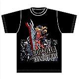 ゴジラ対エヴァンゲリオン アスカ×ゴジラ スペシャルデザイン商品 Tシャツ Lサイズ