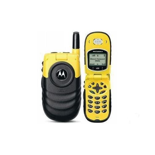 motorola i530 yellow rugged walkie talkie nextel or boost mobile rh sites google com Nextel I355 Nextel I95