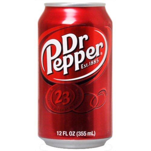 ドクターペッパー 355ml*24本(並行輸入品)