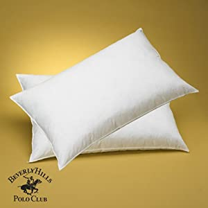 One - Beverly Hills Polo Club - 95% Feather - 5% Down Pillow 400tc - Queen