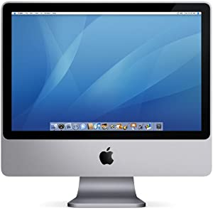 "Apple iMac Desktop with 20"" Display MA877LL/A (2.4 GHz Intel Core 2 Duo, 1 GB RAM, 320 GB Hard Drive, SuperDrive)"