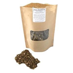 ChocolaTree Raw Chia Crackers - Sea Salt 4oz