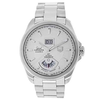 TAG Heuer Men's WAV5112.BA0901 Grand Carrera Grand Date GMT Watch