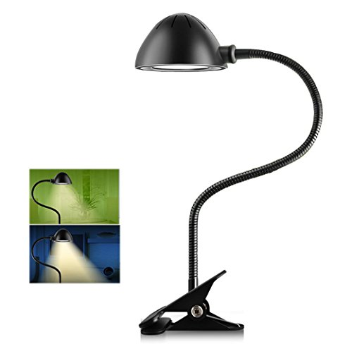 anpress dimmable eye care clamp on led desk lamp 5w. Black Bedroom Furniture Sets. Home Design Ideas