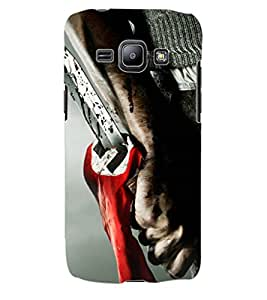 ColourCraft Scary Design Back Case Cover for SAMSUNG GALAXY J1