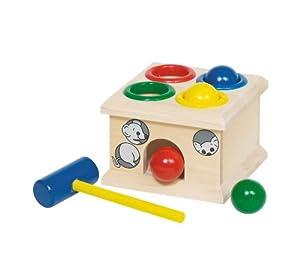 Goki - Fidu, coge el ratón, juego de golpear de madera (Gollnest & Kiesel WM914)