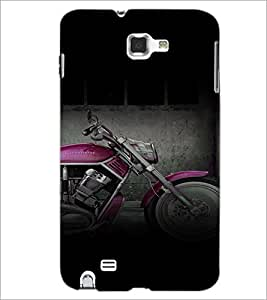 PrintDhaba Bike D-4464 Back Case Cover for SAMSUNG GALAXY NOTE 1 (Multi-Coloured)
