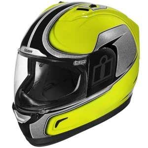 Icon Alliance Hi-Viz Helmet Yellow (Large 0101-4967)