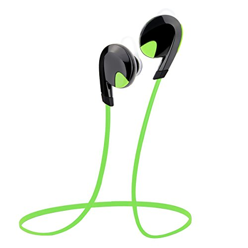 AngLink Wireless Bluetooth Stereo Sport Headset Noise Cancelling Jogging/Cycling/Gym/Exercise Headphones w/Mic Hands-Free Calling for iPhone Samsung Galaxy and Other Bluetooth Enabled Devices