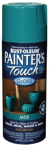 Rust-Oleum 1931830 Painter's Touch Spray, Gloss Jade, 12-Ounce