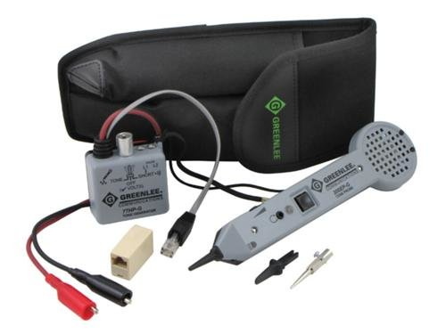 Greenlee 701K-G Professional Tone and Probe Tracing Kit (Wire Tracer Tone Generator compare prices)