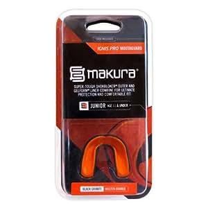 Makura Ignis Pro Mouthguard - Black/Orange, Junior