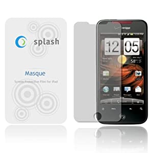 splash Masque Screen Protector Film Clear (Invisible) for HTC Incredible (3-Pack)