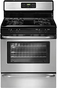 """Frigidaire FFGF3053LS 30"""" Freestanding Gas Range with Ready-Select Controls and Large Capacity, Stainless Steel"""