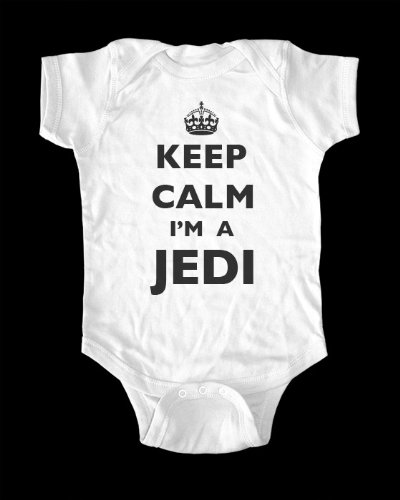 Keep Calm I'm A Jedi Baby Onesie infant bodysuit