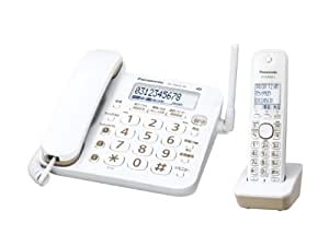 パナソニック デジタルコードレス電話機  子機1台付き 1.9GHz DECT準拠方式 VE-GD23DL-W