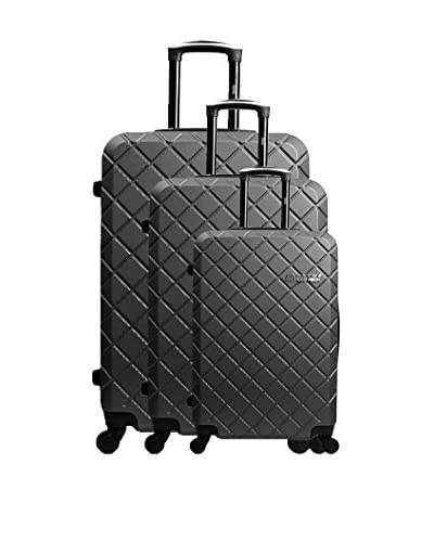 Unanyme Georges Rech Set 3 Trolley Rigido Verone