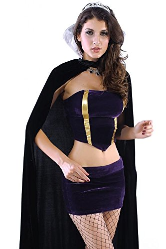 Sex Witch Dress and Costume Wholesale,Deluxe Wicked Queen Costume