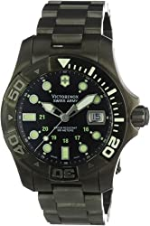Victorinox Swiss Army Men's 241429 Dive Master 500 Black Ice Black Dial Watch