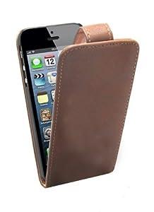 Mobiletto iPhone 5 / iPhone 5S PRESTIGE Ultra SlimCase - Cognac