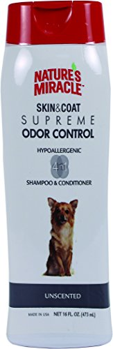 Nature's Miracle Supreme Odor Control Hypoallergenic Shampoo & Conditioner, 16 oz (Nature Miracle Shampoo compare prices)