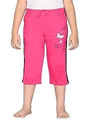 Punkster Pink Capri For Girls