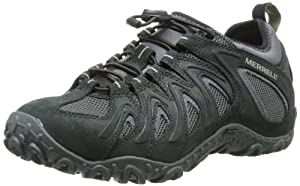 Merrell Men's Chameleon 4 Stretch Hiking Shoe,Black,12 M US