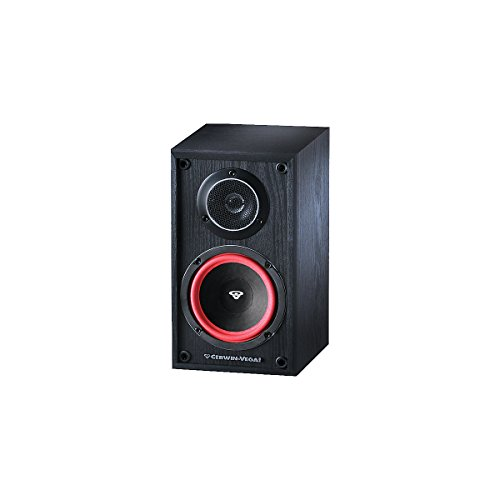 Cerwin Vega Ve5M 125 Watts 2-Way Home Audio Bookshelf Speaker (Pair, Black)