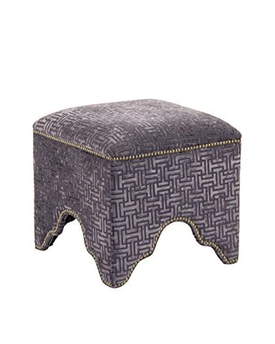 Zentique Willem Cubic Stool, Charcoal