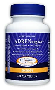 Enzymatic Therapy ADRENergize, 50 Capsules