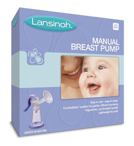 Lansinoh Manual Breast Pump, 1-Count