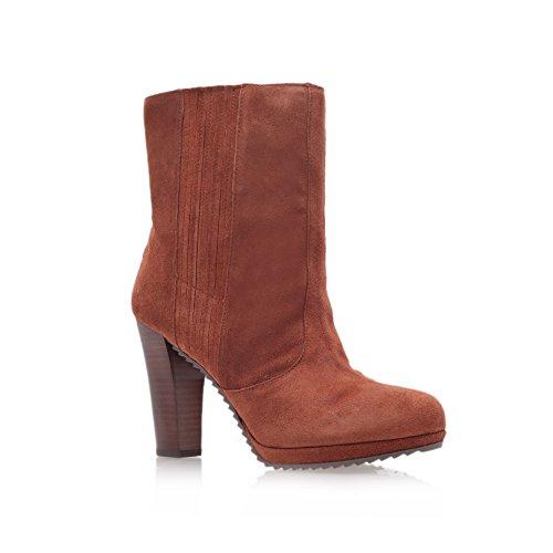 Nine West, da donna, vestibilità ampia Perusha orsetto, colore: marrone chiaro, Marrone (Tenné), 42 EU