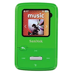SanDisk Sansa Fuze MP3 Specs