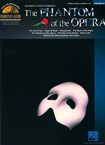 Piano Play Along Vol.83 Phantom of the Opéra CD (Book & CD)