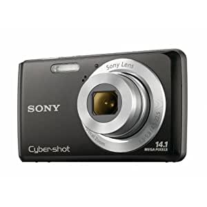 Sony DSCW520B Digitalkamera (14 Megapixel, 5-fach opt. Zoom, 2,7 Zoll Display, bildstabilisiert) schwarz