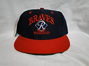 New! Minor League Richmond Braves Navy & Red Toddler Snapback by International League
