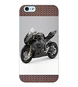 ColourCraft Bike Design Back Case Cover for APPLE IPHONE 6