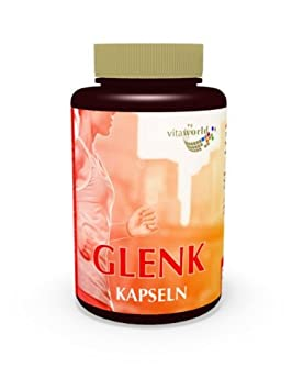 Vita World Glenk 120 Kapseln Apotheken Herstellung Gelenk Komplex Glucosamin Chondroitin Hyaluronsäure