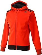 (アディダス)adidas M REFRESH climawarm フードジャケット ACF28 AB6331 ボールドオレンジ/ブラック J/S