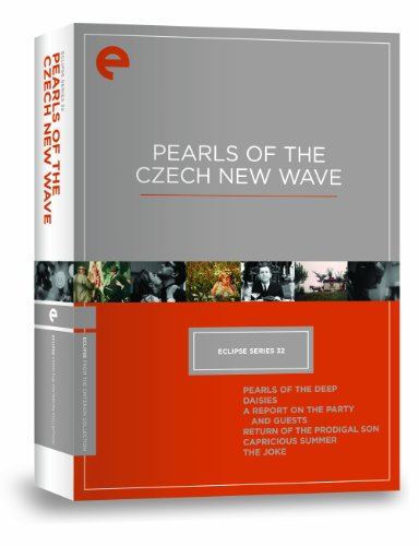 Cover art for  Eclipse Series 32: Pearls of the Czech New Wave (Pearls of the Deep, Daisies, A Report on the Party and Guests, Return of the Prodigal Son, Capricious Summer, The Joke) (Criterion Collection)