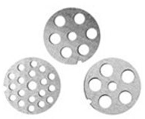 Homebasix Fit#5 Meat Grinder Plate, 51.5 Mm