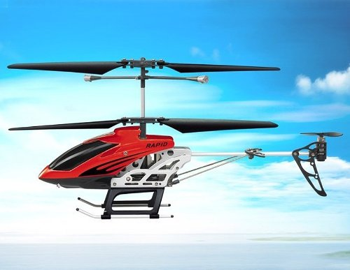 SongYang TOYS 8088-40 3.5-Channel Alloy Infrared RC Helicopter (Red)