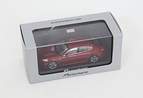 Model Porsche Panamera met.- rot 2010, Ready Made, Minichamps 1:43 Scale