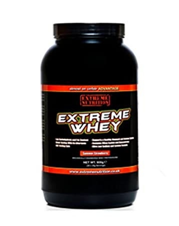 Extreme Nutrition Whey blueberry-cheesecake, 1er Pack (1 x 908 g)