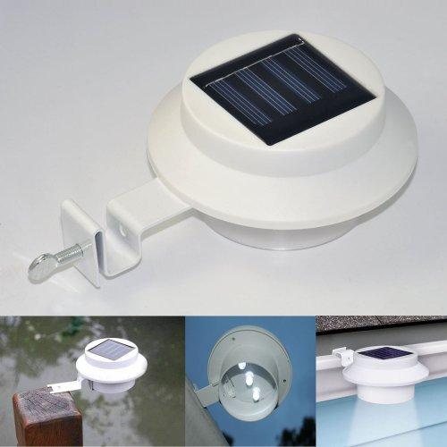 Freedancer Solar Gutter Led Lights Outdoor Indoor Utinity Security Light New Fence Light Smart Led Solar Light