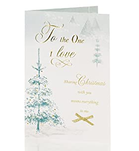 One I Love - Traditional Winter Scene Christmas Card