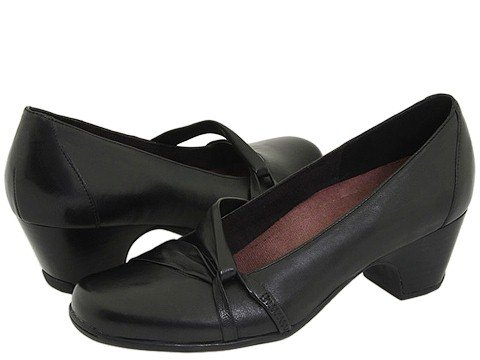 Clarks Women's Sugar Plum Pump,Black,5.5 M US