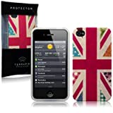 IPhone 4S / iPhone 4 'Hope and Glory' Union Jack (Designed by Creative Eleven) TPU Gel Skin / Case / Cover -