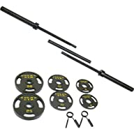 Gold's Gym 110-lb. Olympic Barbell We…